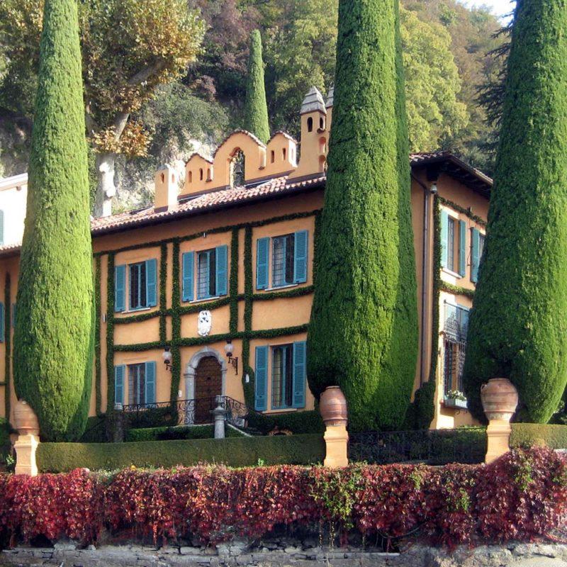 a Unique Villa in Lenno